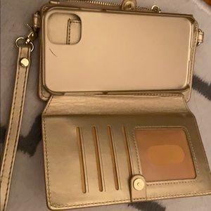 IPhone case wallet.